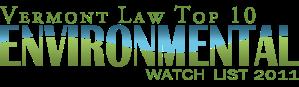 VLS Top 10 Environmental Watch List 2011
